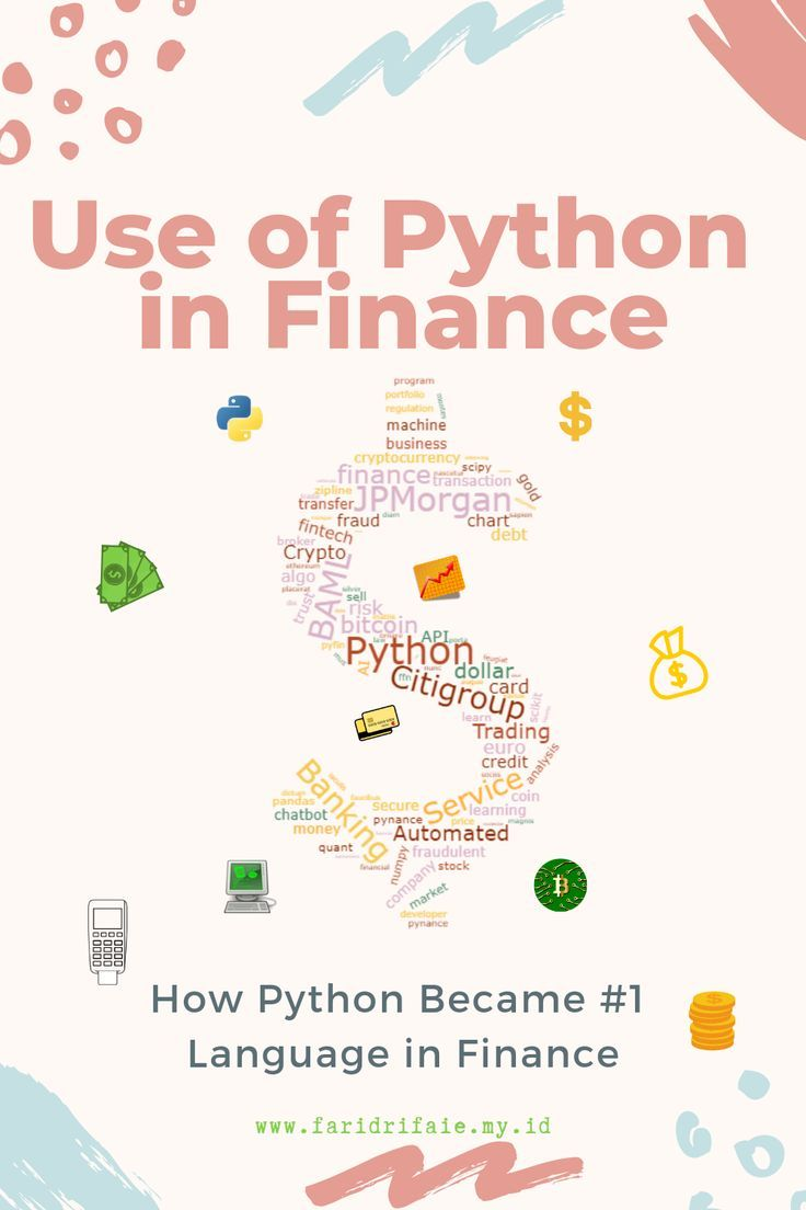 Use of Python in Finance: How Python Became Number 1