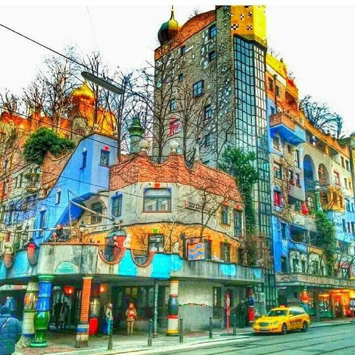 142 best hundertwasser images on pinterest artists for Architecture hundertwasser