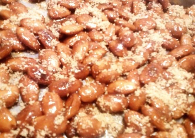 Honey Roasted Almonds Recipe -  Yummy this dish is very delicous. Let's make Honey Roasted Almonds in your home!