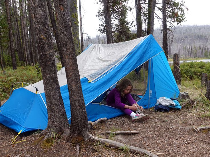 The new Sierra Designs Divine Light is a welterweight backpacking shelter that gives big livable space.