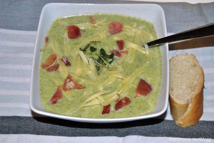 Storemyras matblogg: Blomkål og brokkolisuppe