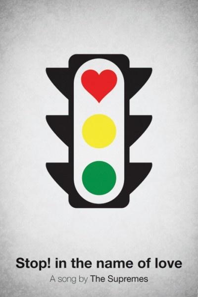 smartPicture-Black Posters, Viktor Hertz, Posters Design, Graphics Design, Music Posters, Pictogram Music,  Stoplight,  Traffic Signals, Traffic Lights