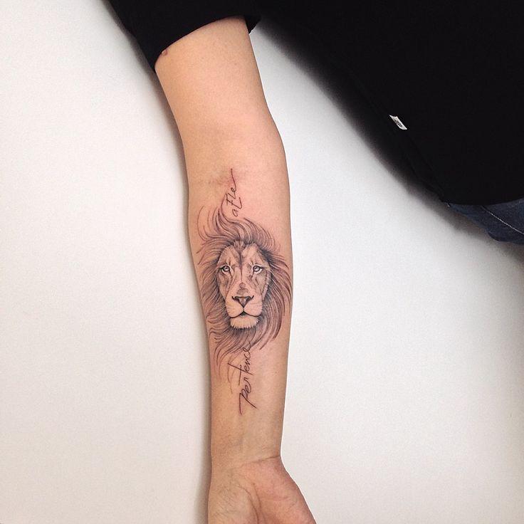 Tatuagem de Leão: mais de 40 ideias - Blog Tattoo2me | Tatuagem, Tatuagem de leão, Tatuagem masculina braço