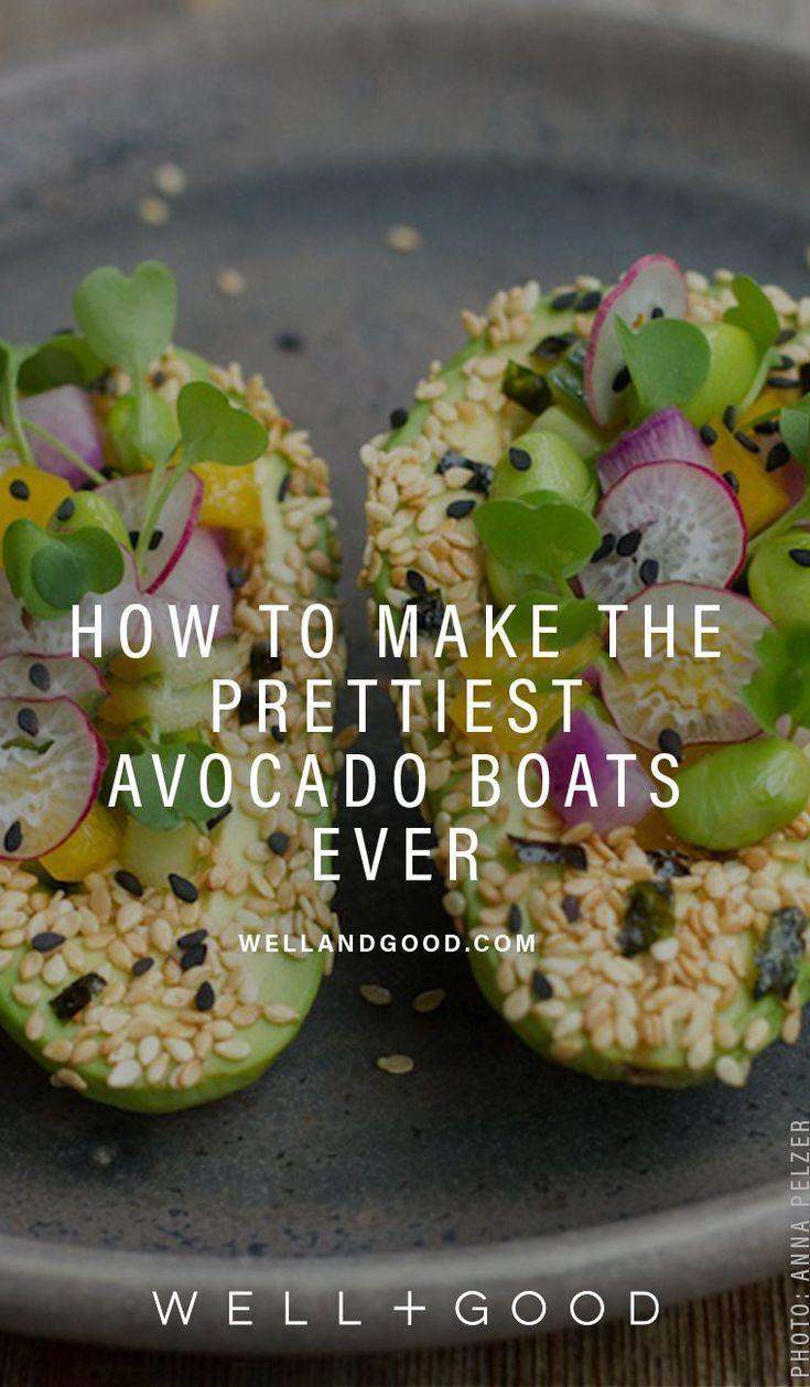 Sushi Avocado Boats