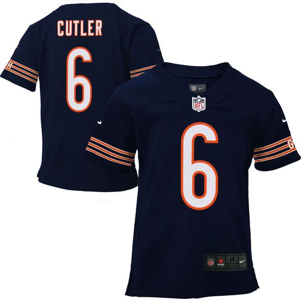 Jay Cutler Chicago Bears Nike Toddler Game Jersey - Navy Blue - $29.99