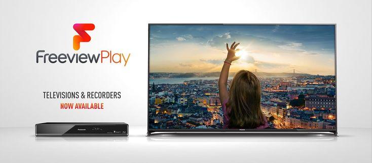 Panasonic Freeview Play TVs and Blu-ray players