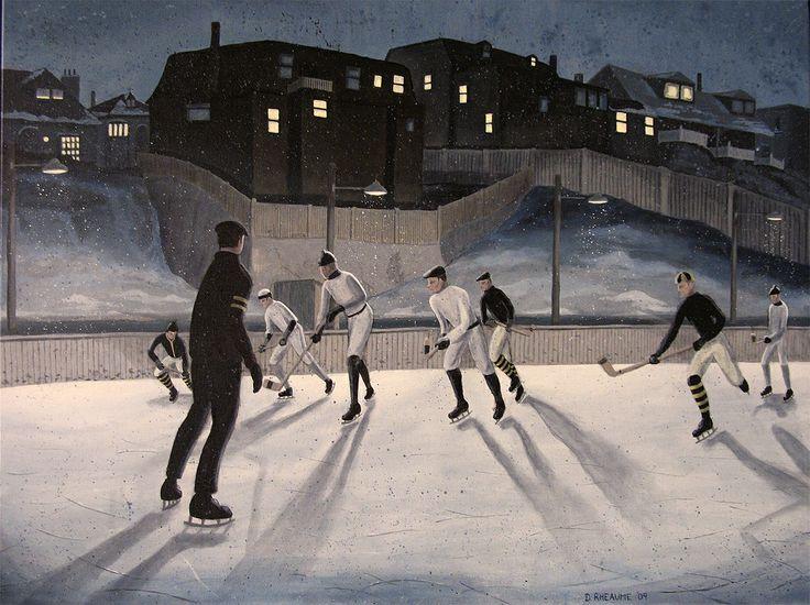 Hockey Christie Pits.  Circa 1912. www.daverheaume.com