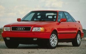So I found a Red 1994 Audi 90 S and this is the exact trim I found. It's an impressive machine in many ways, and I can't wait to bring it back to showroom condition.
