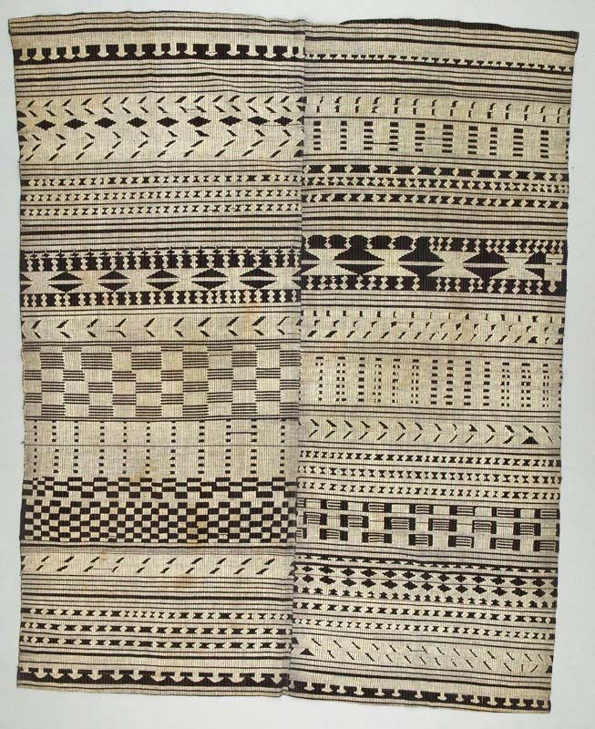 Africa | Wrapper from the Yoruba people of Nigeria | ca. 1930 - 1970 | Cotton.