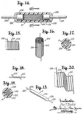 Otis Boykin noted African American inventor: Otis Boykin - Patent Drawing
