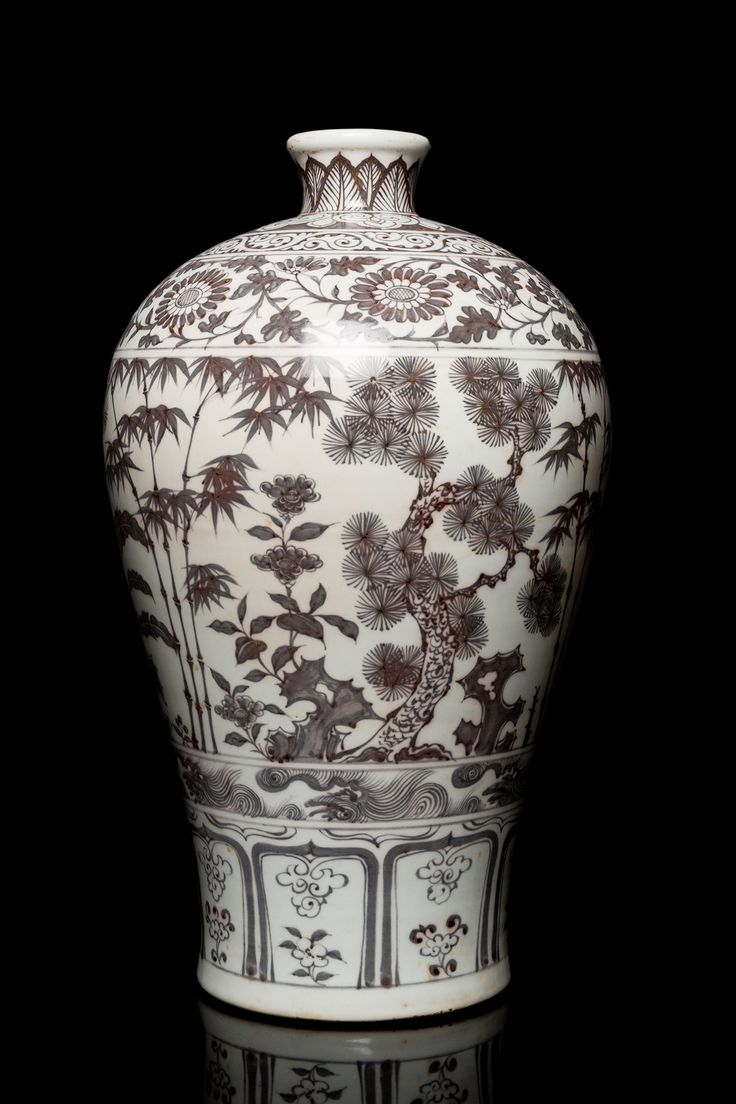 14 best chinese porcelain images on pinterest porcelain china a fine and very rare copper red glazed big vase with flower pattern ming dynasty of reviewsmspy