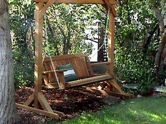 Best 25+ Porch swing frame ideas on Pinterest ...