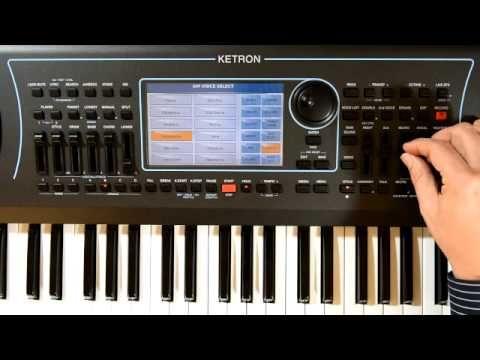 Ketron 2015 -Arranger Keyboard -SD7- MusikMesse