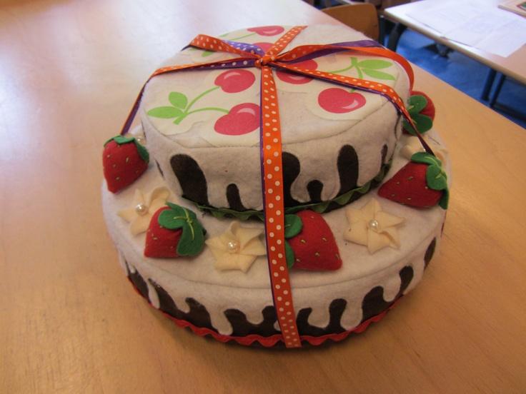 Vilt taart gemaakt door Poekeloek