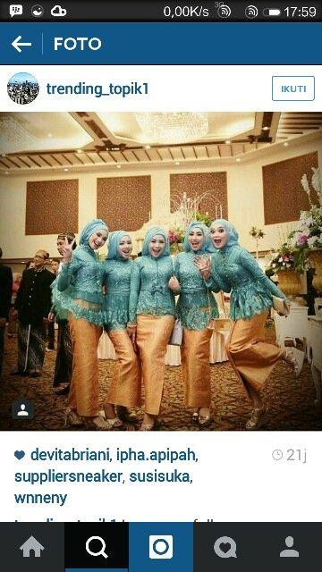 #kebaya #javanese #muslim #kebayamuslim #hijab #jilbab #makeup