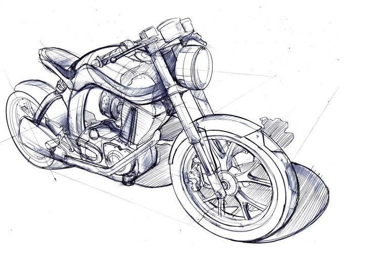 Mac Motorcycles Mac Motorcycles Motorcyclessketch Cizimler Cizim Motorsiklet
