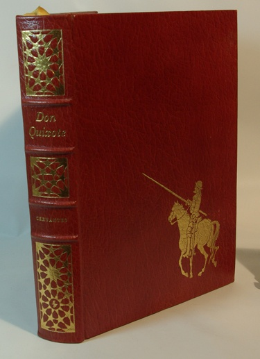 Don Quixote by Miguel de Cervantes Saavedra I remember some of this from high school but would love to revisit it hardback