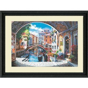 Dimensions Paint By Number Kit, Archway To Venice, 14-Inch-by-20-Inch by Dimensions. Save 2 Off!. $18.89. Frames and mats are not included. Display your works of art with pride. Includes art board, paints, brush, instructions. Archway to Venice. Conforms to astm d4236. Archway to Venice. Dimensions brings you paint kits that are fun and quick to paint. With their color mixing you will achieve the subtle tones that make their designs look so realistic. Kit includes: pre-printed t...