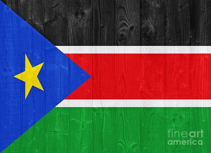 South Sudan Flag Photograph