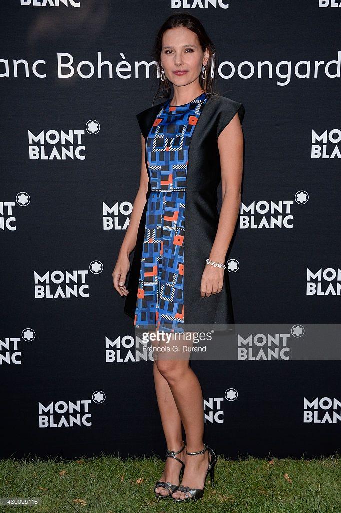 Photo d'actualité : Virginie Ledoyen attends the Montblanc Boheme...