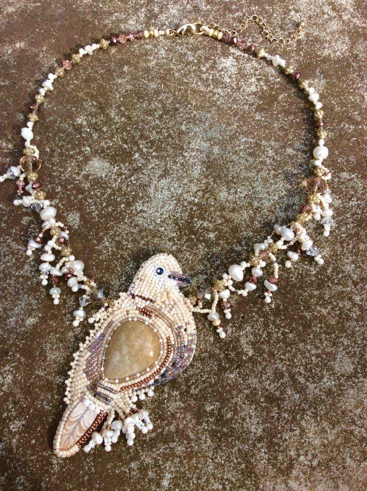 Power of Dove Gemstone Necklace