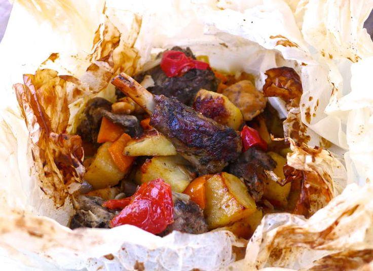 Lamb Kleftiko Recipe (Greek Lamb Cooked In Parchment Paper)