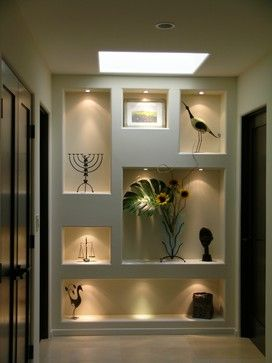 Niche Lighting Design, Pictures, Remodel, Decor and Ideas