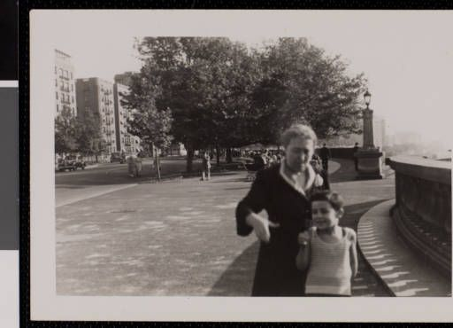 Maria Viterbi and son Andrew, undated. (photograph) :: Andrew J. and Erna Viterbi Family Archives