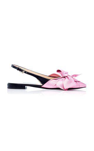 M'O Exclusive: Ballerina Slingback Flat by Prada