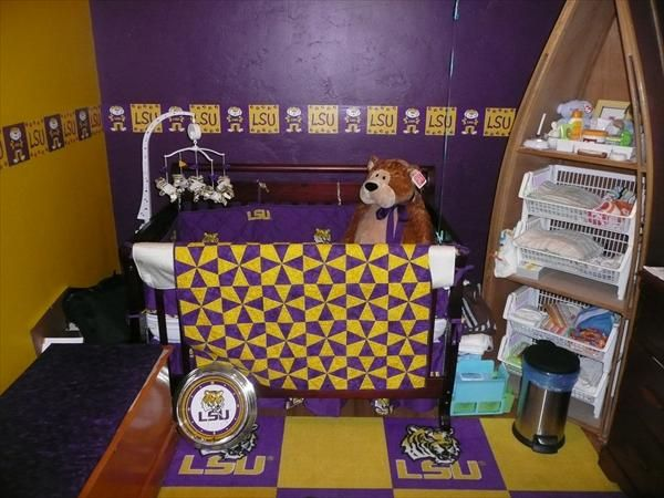 Great Lsu Baby Boy Room! For That Day I Have A Baby Boy! Google Image