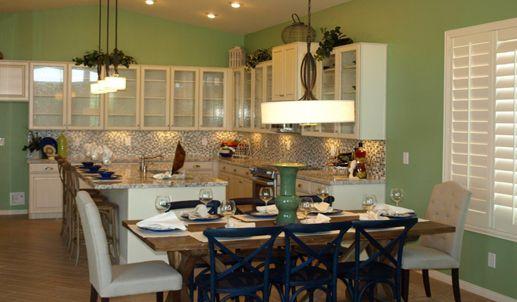 Thoughtful Kitchen Design By Av Homes At Estrella