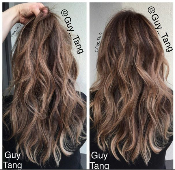 guy tang balayage hair