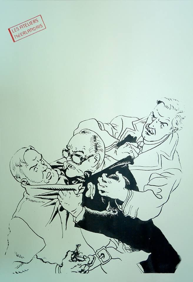 Blake and Mortimer by Théo Van den Boogaard! -
