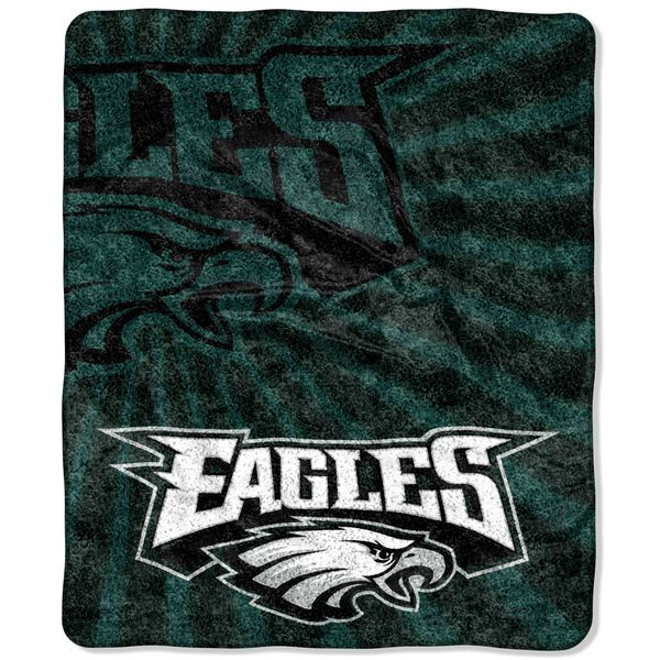 "Philadelphia Eagles 50"" x 60"" Strobe Sherpa Blanket"