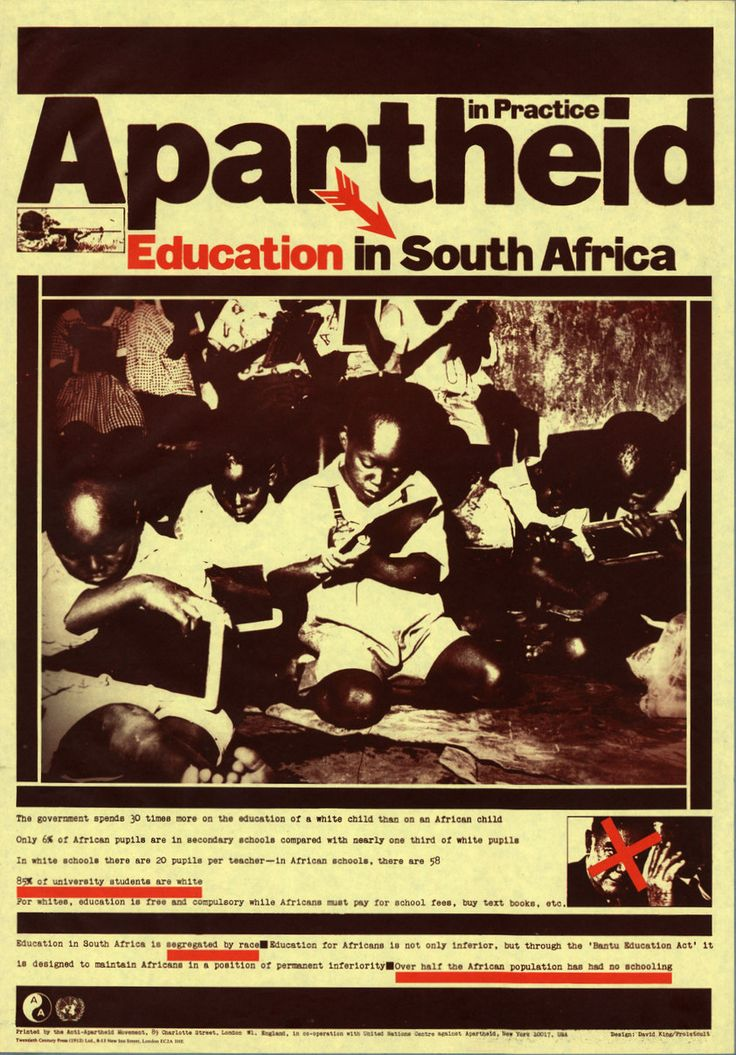 an examination of apartheid in south africa Apartheid in south africa was caused by the national party, an all-white government that enforced a strong policy of racial segregation through legislation this legislation was known as.
