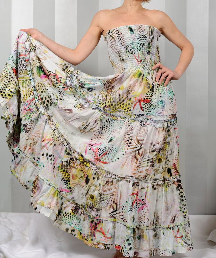 Floaty summer dress