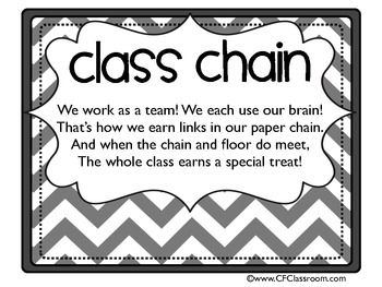 Classroom Assignment Format