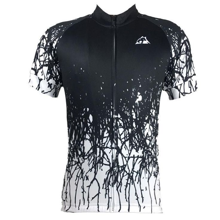 The Huntsman Men's Black Cycling Jersey