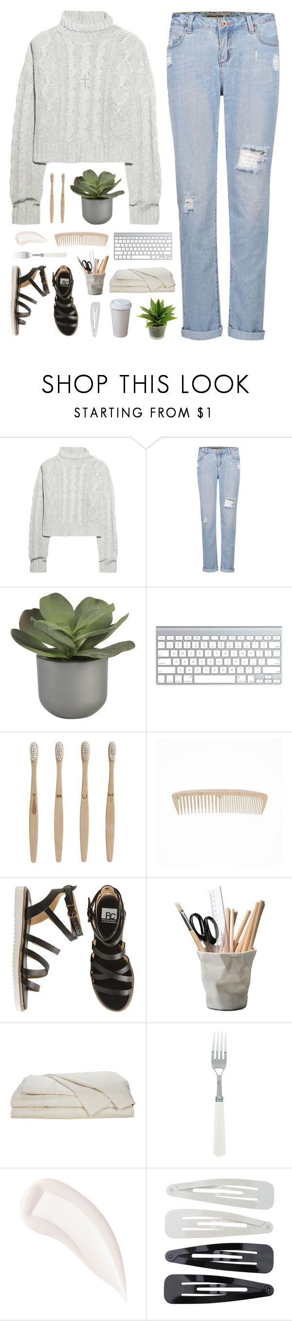 """OUR SOLEMN HOUR"" by penitdown ❤ liked on Polyvore featuring Bamford, Crate and Barrel, ferm LIVING, BC Footwear, ESSEY, By Terry, Forever 21 and Nadri"