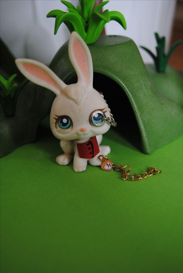 LPS Alice in Wonderland het witte konijn