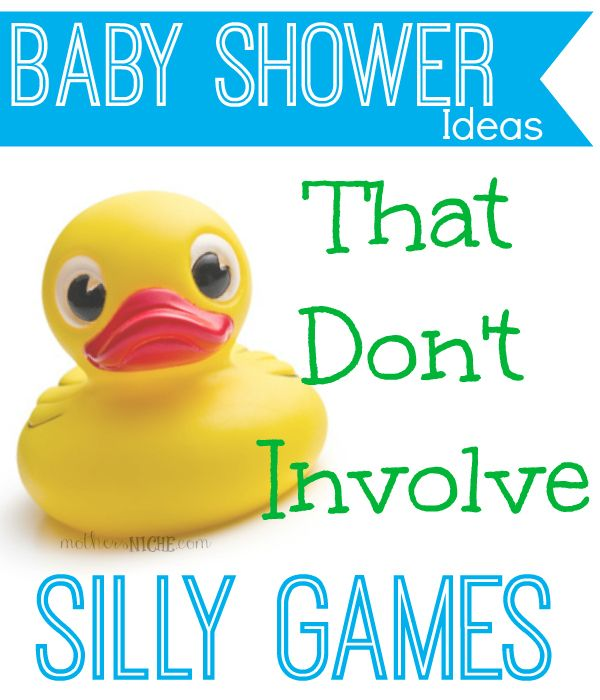 no-game baby shower ideas - also printable onesie banner