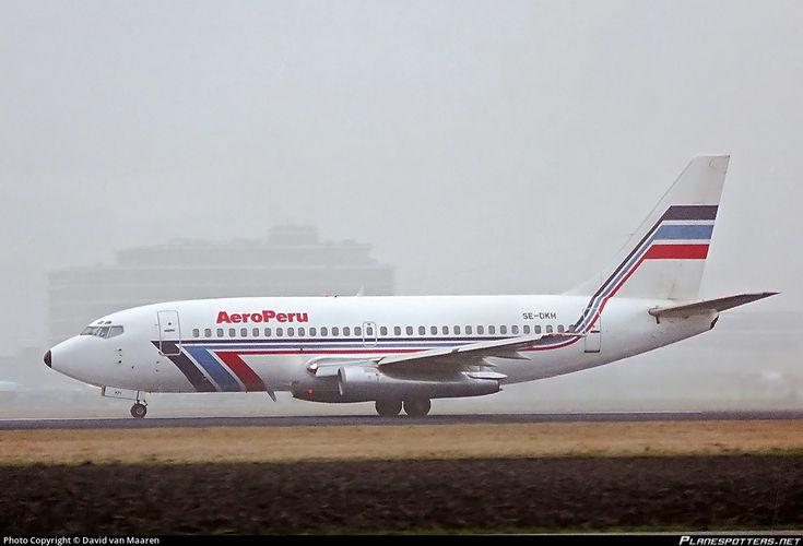 SE-DKH AeroPeru Boeing 737-205 photographed at Amsterdam Schiphol (AMS / EHAM) by David van Maaren