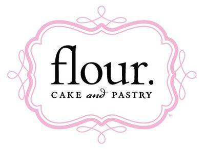 Flour cake and pastry logo design.
