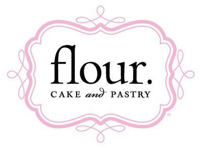 Flour cake and pastry logo design.