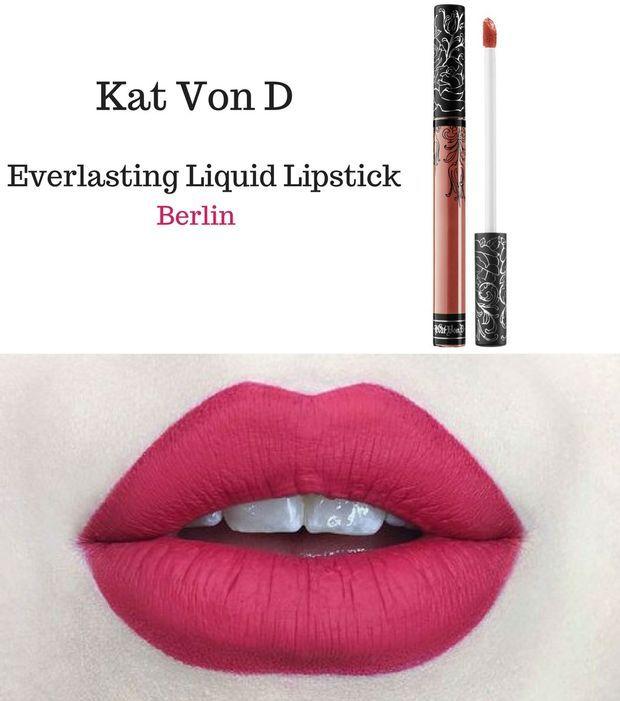 Rouge à lèvres Kat Von D - Everlasting Liquid Lipstick, Berlin