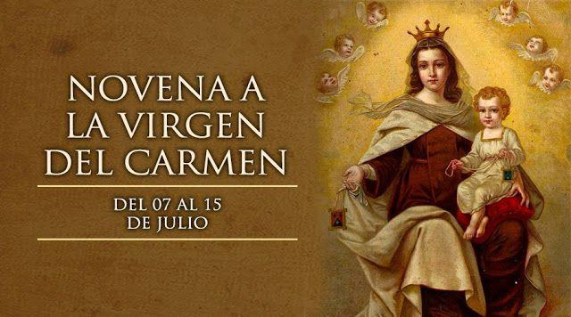 VIRGEN MARÍA, RUEGA POR NOSOTROS : HOY 7 DE JULIO SE INICIA LA NOVENA EN HONOR A LA V...