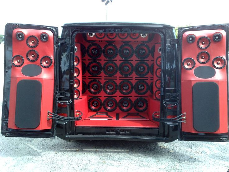 Cars With Speakers Cars with speakers cool car