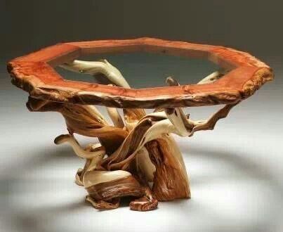 Tree Root Coffee Table For The Home Dyi Tables Pinterest Trees Tree Roots And Coffee Tables