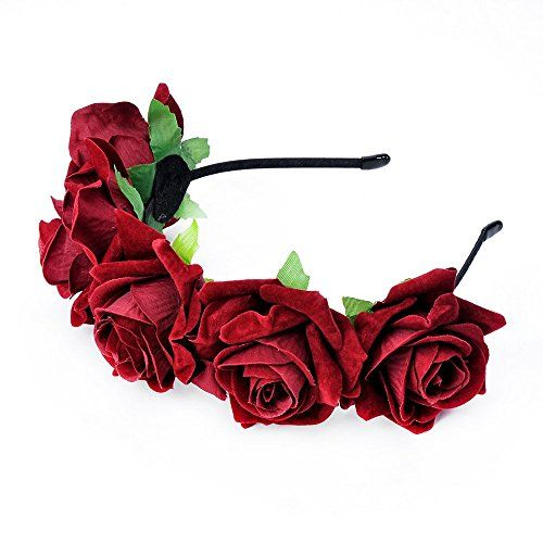 DreamLily Rose Flower Crown Wedding Festival Headband Hai... https://www.amazon.com/dp/B01FRBBO10/ref=cm_sw_r_pi_dp_x_EZ3oyb48CDM4Q