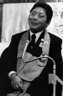 """Give up the paranoia ~ Chögyam Trungpa http://justdharma.com/s/f6k60  The open path is a matter of working purely with what is, of giving up altogether the fear that something may not work, that something may end in failure. One has to give up the paranoia that one might not fit into situations, that one might be rejected. One purely deals with life as it is.  – Chögyam Trungpa  from the book """"Cutting Through Spiritual Materialism"""" ISBN: 978-1590306390…"""